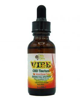 Vibe Tincture Natural Orange 1oz 2000mg