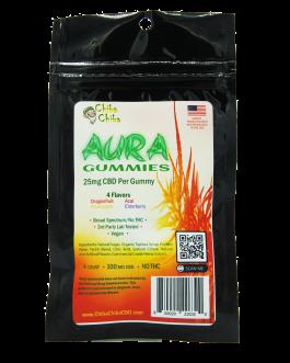 Aura Soft Gummies 4 Ct 100 Mg CBD 0%THC