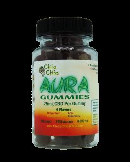 Aura Soft Gummies 30ct 750mg CBD 0%THC